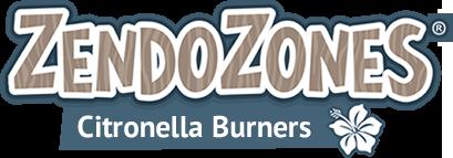 ZendoZones Citronella Burners Logo